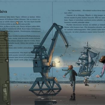 Oppikirjakuvitus - Anita Polkutie