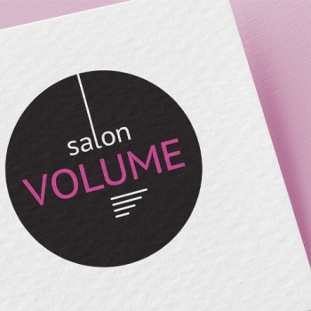 Logosuunnittelu - Salon Volume