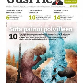 Lehden kansikuvitus - Antti Yrjölä