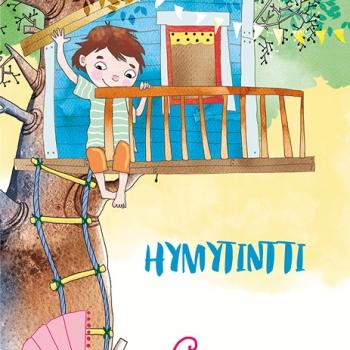 Kansikuvan kuvitus lasten runokirjaan - Anita Polkutie